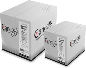 Caneggs Egg White powder Packing