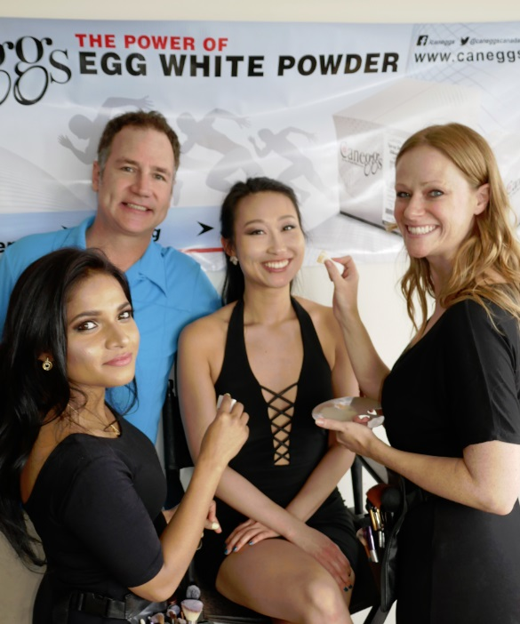 CanEggs - testing egg white powder beauty secrets in Toronto