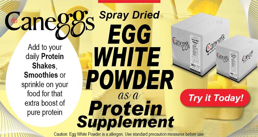 Caneggs Egg White Powder Protein Supplements