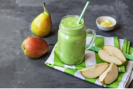 Green Pear Protein Shake