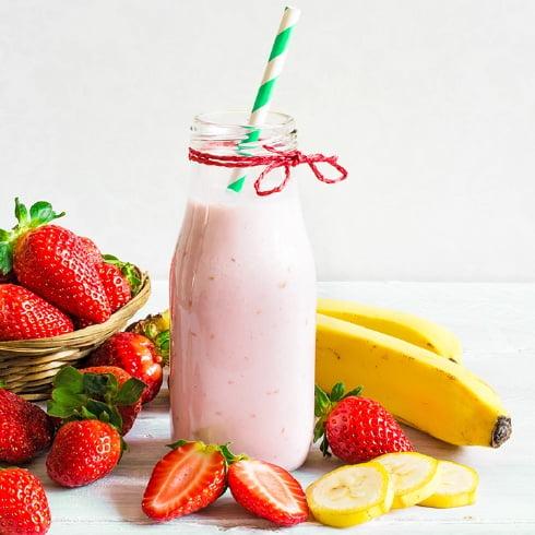 Image of Strawberry Banana Protein Shake